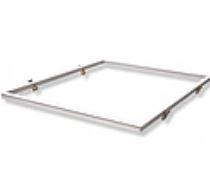 Kit Marco Empotrar Panel ARON 60x60 Aluminio Blanco
