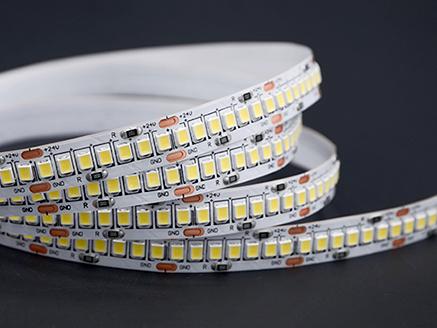 TIRA LED APOLO 19,2W / 24V / IP20 / CW / 240Leds/M / 10M/R / CORTE 30MM