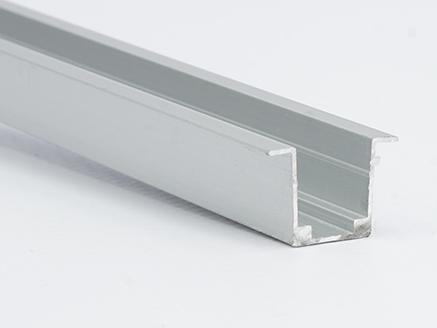 PERFIL ALUM TIPO U EMPOTRAR NEON LED U100. 2M